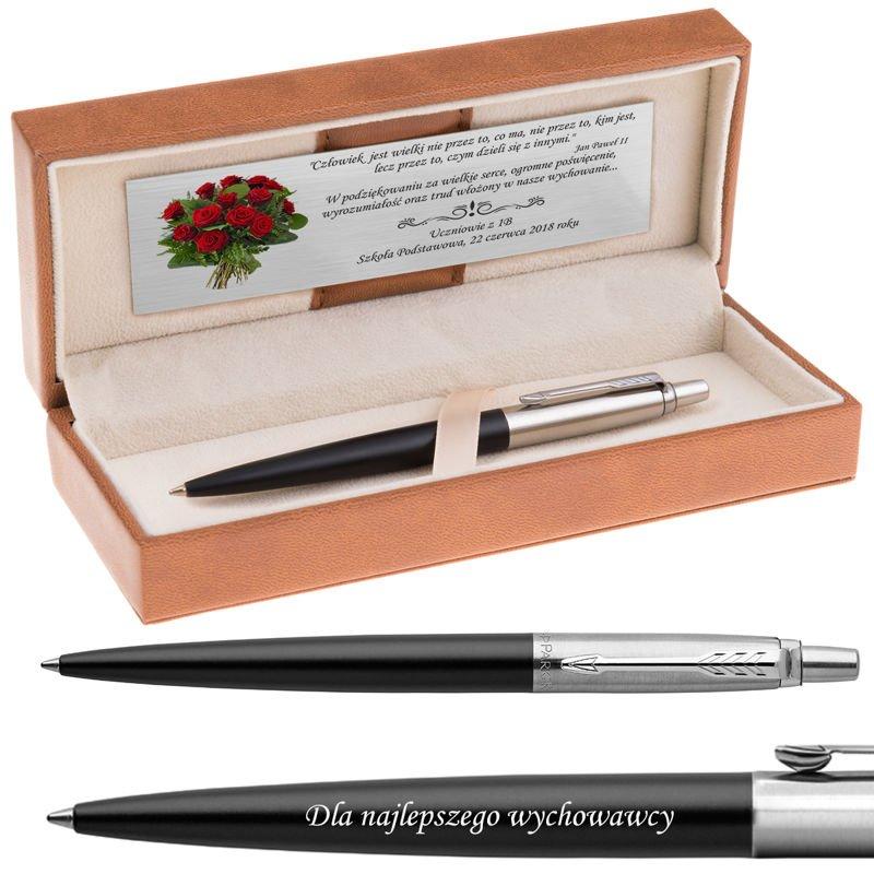 Długopis Parker Jotter CT Bond Street Czarny Grawer