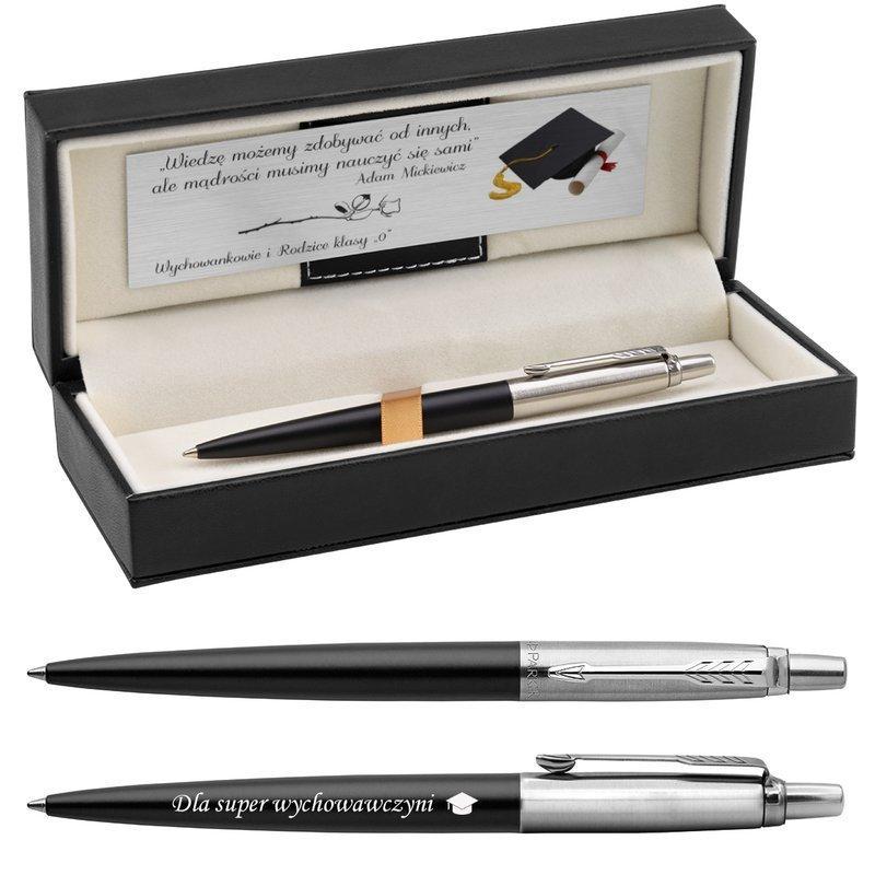 Długopis Parker Jotter CT Bond Street Czarny z Grawerem