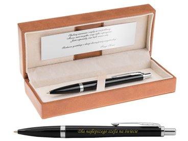 Parker Urban Długopis London Cab Black CT Grawer Dedykacja