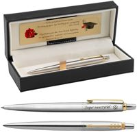 Długopis Parker Jotter stalowy GT Eko Pudełko z Grawerem