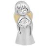 Aniołek  z sercem 7 cm Srebro Grawer Dedykacja Pamiątka chrzest 1