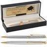 Długopis Waterman Hemisphere stalowy GT Grawer  1