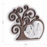 Obrazek Srebrny Drzewo Życia Anioł Stróż Pamiątka Chrztu Grawer 3