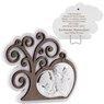 Obrazek Srebrny Drzewo Życia Anioł Stróż Pamiątka Chrztu Grawer 1