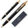 Oryginalny Długopis Parker IM Czarny GT z Grawerem 6