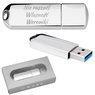 Pendrive chrom 16 GB Pamięć USB prezent z Grawerem 1