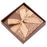 Pudełko na prezent brązowe XS  3