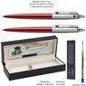 Zestaw Długopis Ołówek Jotter Parker Czerwony CT Prezent Grawer 3