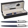 Zestaw Długopis Ołówek Jotter Parker Royal Granatowy CT z Grawerem 1