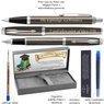 Zestaw Parker IM Długopis Pióro Dark Espresso CT z Grawerem 3