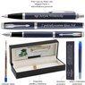Zestaw Parker IM Pióro Długopis Blue CT Czarne etui  z Grawerem 7