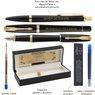 Zestaw Parker Urban Pióro i Długopis Muted Black GT Grawer Dedykacja 7