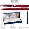 Zestaw Pióro Długopis Waterman Allure Czerwony CT z Grawerem 3