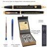 Zestaw Pióro Wieczne Długopis Parker IM Black GT z Grawerem 3