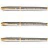 Zestaw Pióro i Długopis Parker IM Brushed GT z Grawerem 5