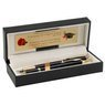 Zestaw Pióro wieczne Długopis Parker IM Czarny GT Etui z Grawerem 2