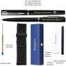 Zestaw Waterman Pióro + Długopis Allure Czarne CT + Etui Grawer 5