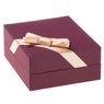 Złoty Wisiorek Sowa Łańcuszek 585 PREZENT GRAWER różowa kokardka 8